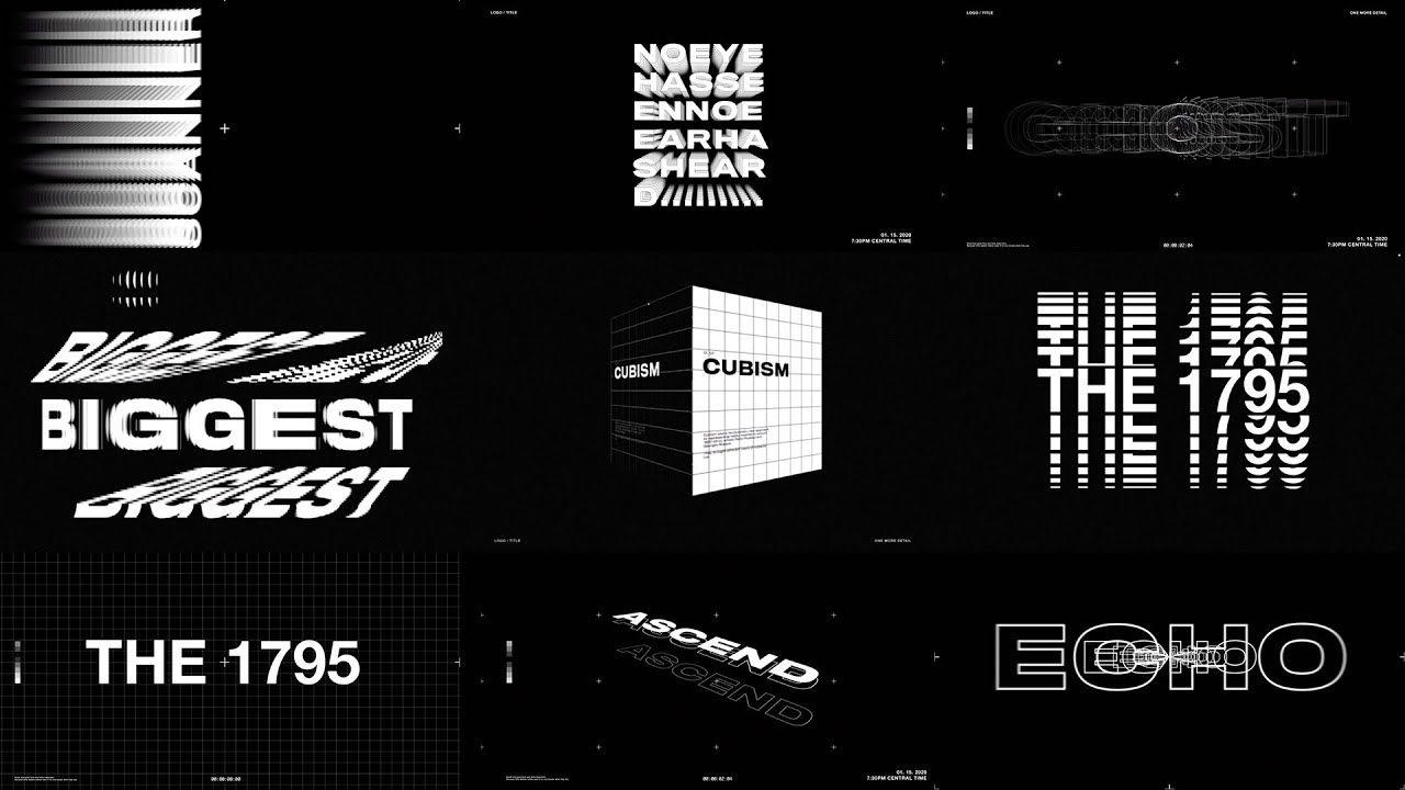 typography graphic design trends
