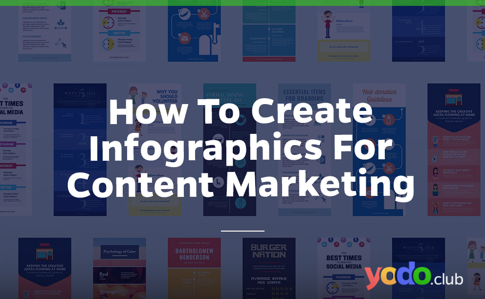 How to create Infographics for content marketing