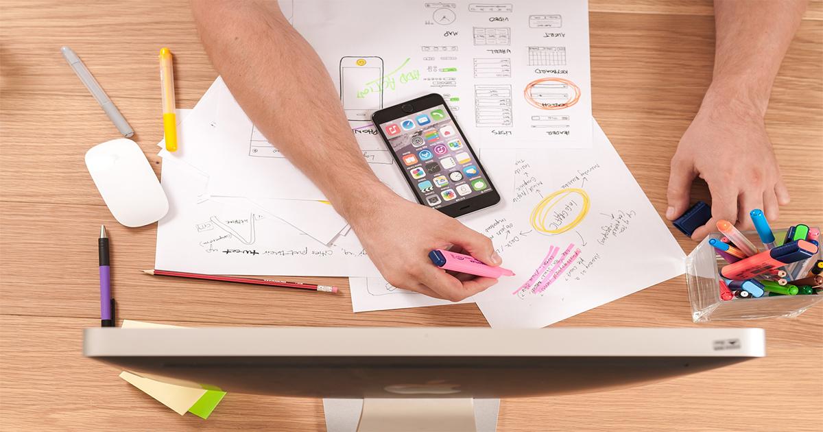 how your web design looks using prototype tools