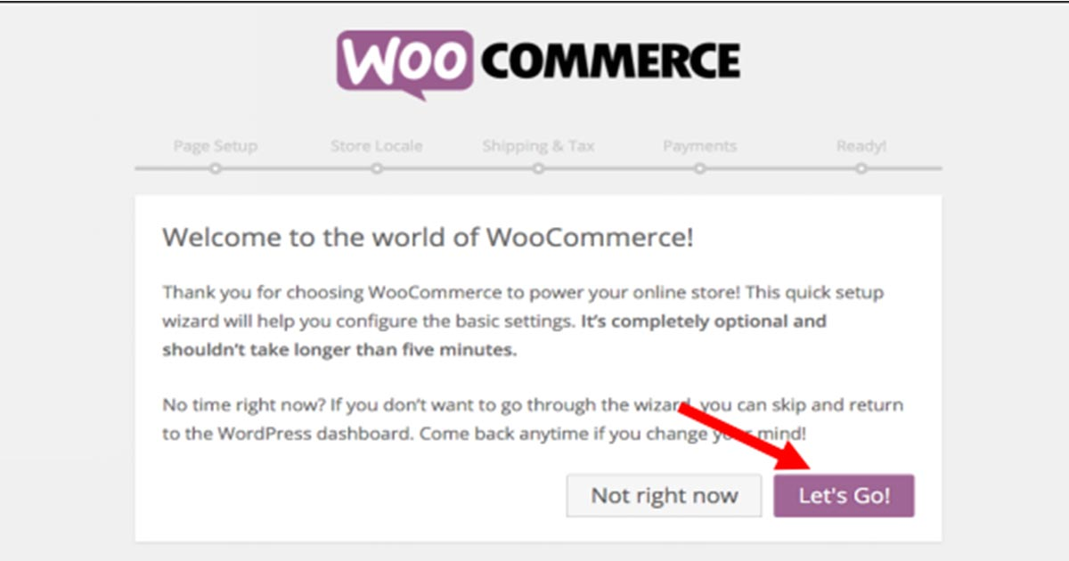 welcome popup of WooCommerce store