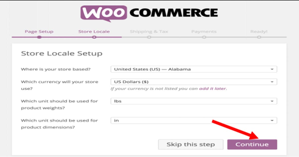 adding information for store to run on e Commerce