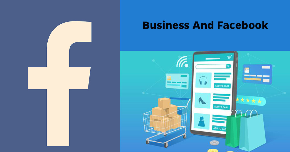 Business through Facebook to sell products in coronavirus