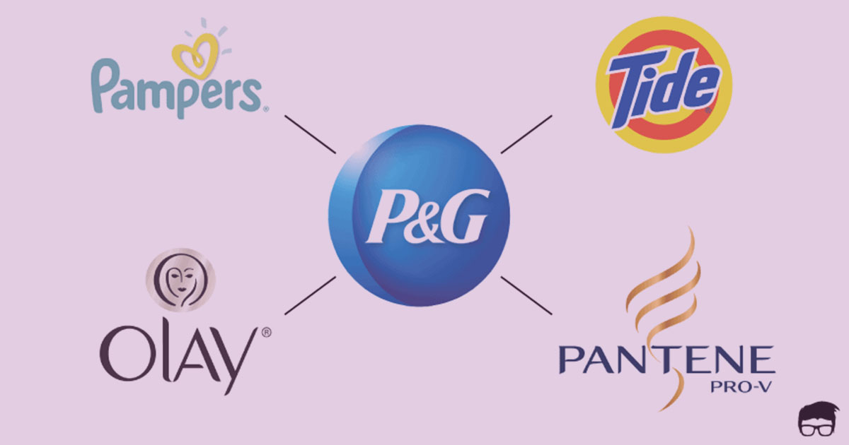Procter and Gamble brand architecture