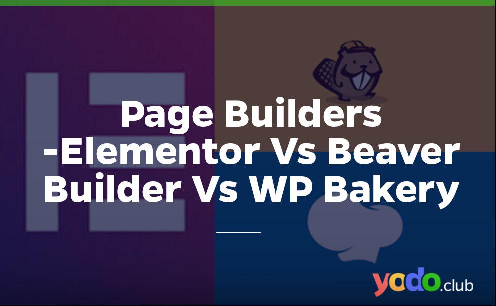 Page builders comparison